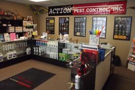 Action Pest Control Inc. extermination supplies columbus ohio